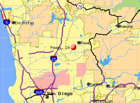 Poway California Map.Poway California Residential And Commercial Appraisal Company